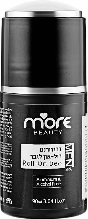 Роликовый дезодорант для мужчин - More Beauty Roii-On Deo