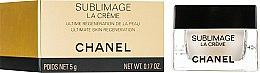 Духи, Парфюмерия, косметика Регенерирующий крем для лица - Chanel Sublimage La Creme (мини)