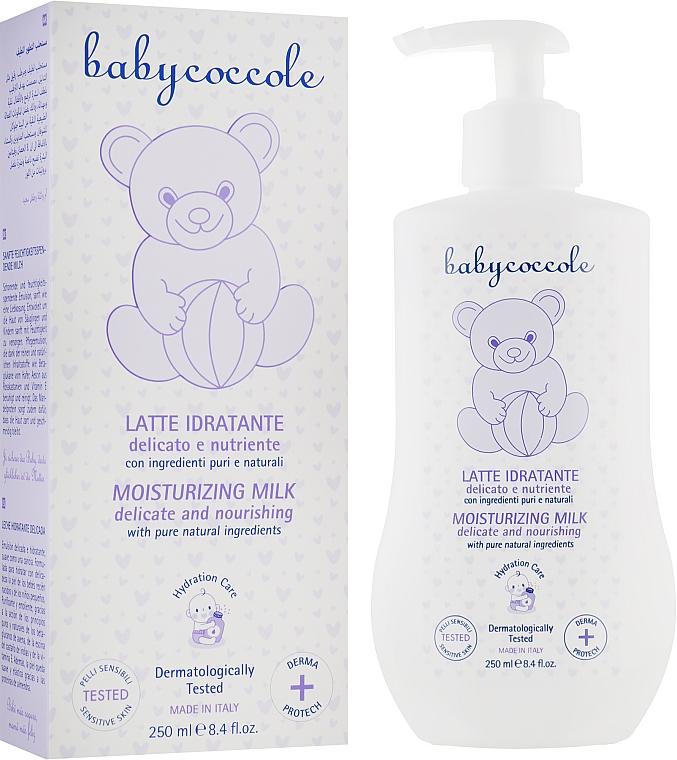 Нежное увлажняющее молочко для младенцев - Babycoccole