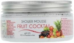 Гель-піна для душу - Ceano Cosmetics Shower Mousse Fruit Coctail — фото N1