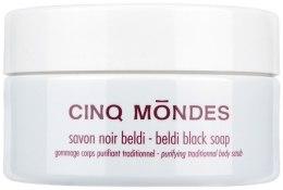 Мило для тіла - Cinq Mondes Savon Noir Beldi — фото N2