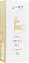 Духи, Парфюмерия, косметика Детский увлажняющий крем для лица с SPF 30 - Babe Laboratorios Facial Moisturizer SPF 30