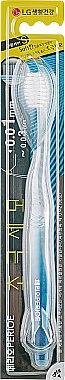 Зубная щетка с мягкой щетиной, синяя - LG Household & Health Care Perioe Gum Care White — фото N1