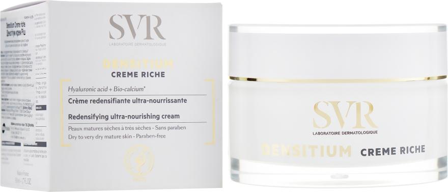 Насыщенный крем для упругости кожи - SVR Densitium Rich Cream