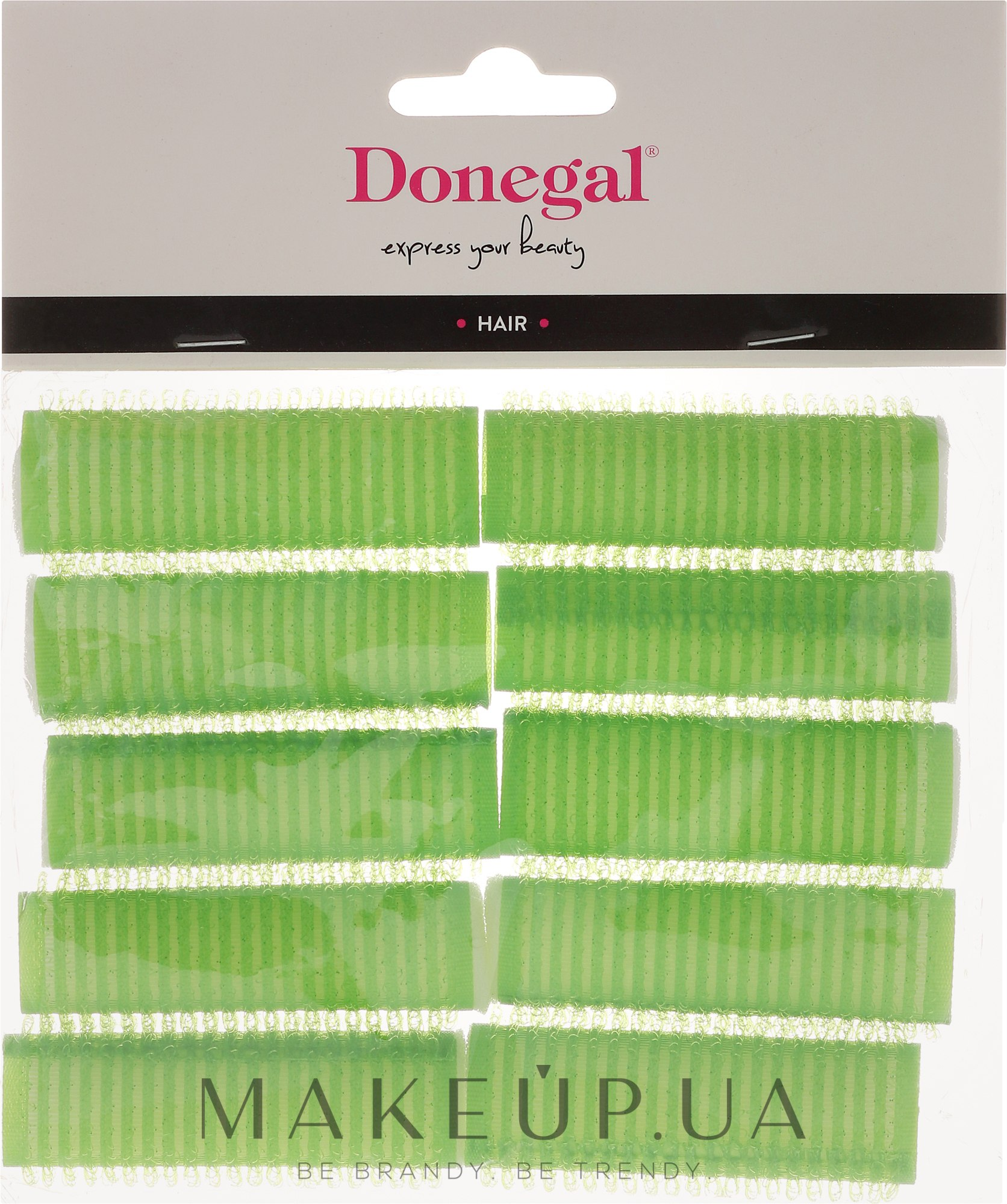Бігуді з пінною основою, 20 мм, 10 шт. - Donegal Hair Curlers — фото 10шт