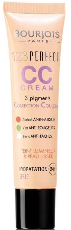 Тональный крем - Bourjois 123 Perfect CC Cream SPF15