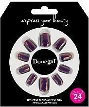 Духи, Парфюмерия, косметика Набор искусственных ногтей с клеем, 3059 - Donegal Express Your Beauty