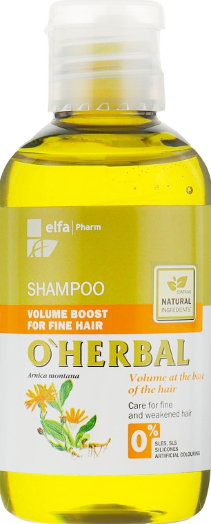 """Шампунь для объема тонких волос """"Объем от корней"""" - O'Herbal"""