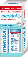 Духи, Парфюмерия, косметика Набір - Meridol Brosse A Dent Chirurgicale Ultra Souple (t/past/75ml + m/wash/400ml)