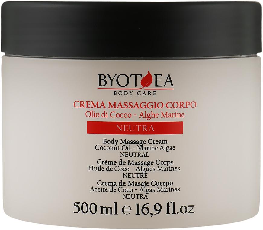 Крем для массажа нейтральный - Byothea Massage Cream