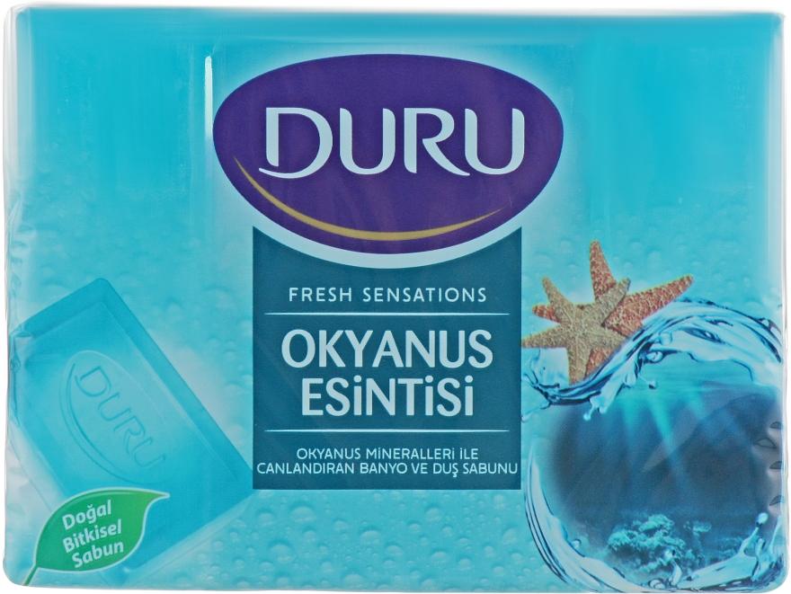 """Мыло """"Океанский бриз"""" - Duru Fresh Sensations Ocean Breeze Soap"""