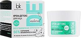 Духи, Парфюмерия, косметика Крем-детокс для лица 40+ - BelKosmex Detox Natural Face Cream