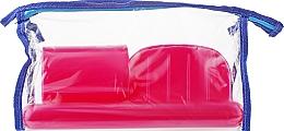 Духи, Парфюмерия, косметика Дорожный набор туалетных принадлежностей 98020, розовый - SPL