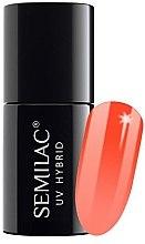 Духи, Парфюмерия, косметика Лак для ногтей - Semilac Thermal UV Hybrid Nail Polish