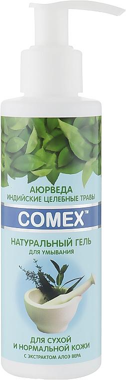 Натуральный гель для умывания для сухой и нормальной кожи - Comex