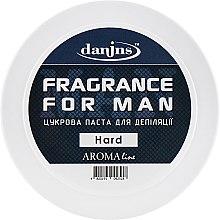 """Духи, Парфюмерия, косметика Парфюмированная сахарная паста для депиляции """"Для мужчин"""", твердая - Danins Fragrance For Man Sugar Paste Hard"""