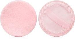 Духи, Парфюмерия, косметика Спонж-пуховка для рассыпчатой пудры, розовый - Lily Cosmetics