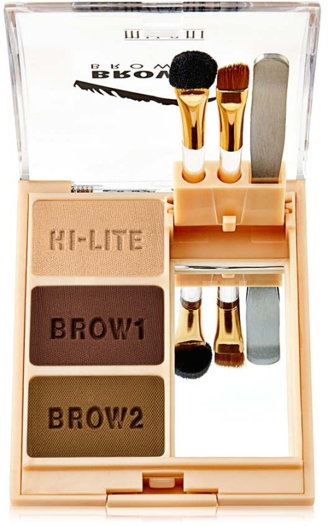 Набор пудр для бровей - Milani Brow Fix Eye Brow Shaping Kit