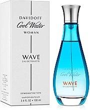 Davidoff Cool Water Wave - Туалетная вода (тестер с крышкой) — фото N2