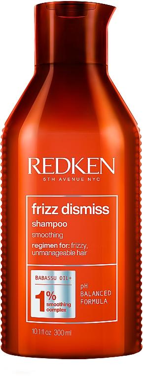 Шампунь для гладкости и дисциплины волос - Redken Frizz Dismiss Shampoo