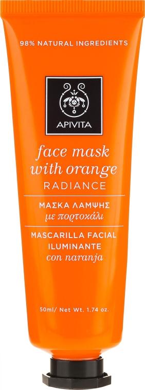 """Маска для лица с апельсином """"Сияние"""" - Apivita Radiance Face Mask with Orange"""