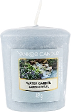 Духи, Парфюмерия, косметика Ароматическая свеча - Yankee Candle Votiv Water Garden