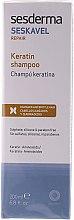 Духи, Парфюмерия, косметика Восстанавливающий шампунь с кератином - SesDerma Laboratories Seskavel Repair Keratin Shampoo