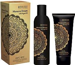 Духи, Парфюмерия, косметика Набор - Revuele Morocco Dream (shm/250ml + conditioner/200ml)