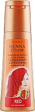 Духи, Парфюмерия, косметика Шампунь для волос рыжих оттенков - Venita Henna Color Red Shampoo