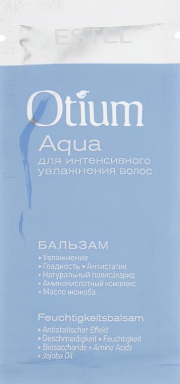 Бальзам для интенсивного увлажнения волос - Estel Professional Otium Aqua (пробник)