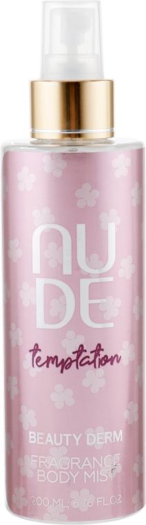 Спрей для тела парфюмированный - Beauty Derm Nude Temptation Fragrance Body Mist