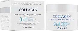 Духи, Парфюмерия, косметика Крем для лица увлажняющий с коллагеном 3 в 1 - Enough Collagen Whitening Moisture Cream 3 in 1