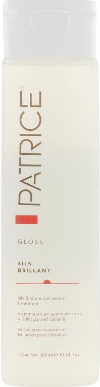 Сыворотка для блеска и шелковистости волос - Patrice Beaute Gloss Silk Brilliant
