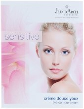 Духи, Парфюмерия, косметика Крем для кожи вокруг глаз - Jean d'Arcel Sensitive Creme Douce Yeux (пробник)
