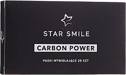Духи, Парфюмерия, косметика Отбеливающие полоски для зубов - Star Smile Carbon Power Whitening Strips