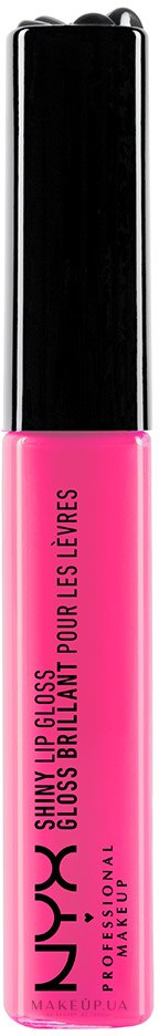Блеск для губ - NYX Professional Makeup Mega Shine Lip Gloss  — фото 136 - Dolly Pink