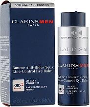 Парфумерія, косметика Антивіковий бальзам - Clarins Men Line-Eye Control Balm