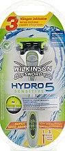 Духи, Парфюмерия, косметика Станок для бритья + 3 сменных лезвия - Wilkinson Sword Hydro 5 Sensitive