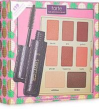 Набор - Tarte Cosmetics Flawles On The Fly (eyeshadow/6x1.1g/2x1.8g+mascara/4ml) — фото N2