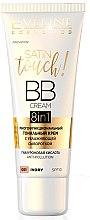 Духи, Парфюмерия, косметика Многофункциональный тональный крем - Eveline Cosmetics 8in1 Satin Touch BB Cream SPF10