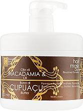 Духи, Парфюмерия, косметика Маска для волос с маслом купуасу и макадамии - Cosmofarma JoniLine Classic Cupuacu and Macadamia Mask