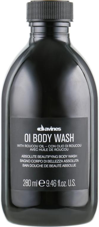 Гель для душа для абсолютной красоты тела - Davines OI Body Wash