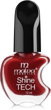 Духи, Парфюмерия, косметика Лак для ногтей - Malva Cosmetics Shine Tech Nail Lacquer