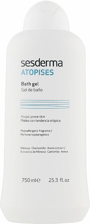 Гель для душу при атопічному дерматиті - SesDerma Laboratories Atopises Body Wash — фото N1