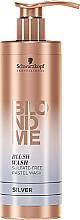 Парфумерія, косметика Безсульфатний зволожувальний шампунь, сріблястий - Schwarzkopf Professional Blond Me Blush Wash Silver