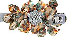 """Духи, Парфюмерия, косметика Заколка-автомат для волос """"Орхидея"""", 0807, разноцветная - Элита"""