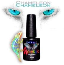 """Гель-лак """"Ефект котяче око хамелеон"""" - Nails Molekula Cat's Eye Chameleon Gel Polish — фото N2"""