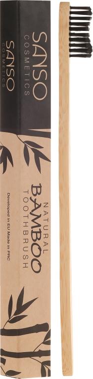 Бамбуковая зубная щетка - Sanso Cosmetics Natural Bamboo Toothbrushes