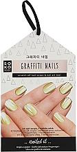 Парфумерія, косметика Фольга для дизайну нігтів - Soko Ready Graffiti Nails