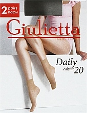 "Духи, Парфюмерия, косметика Носки ""Daily 20 Calzino"" для женщин, visone - Giulietta"